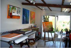 atelier d'art peinture Ellhëa artiste-peintre contemporain