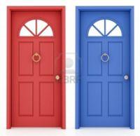 couleur porte d'entree feng shui