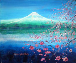 tableau montagne feng shui